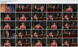 Carla Gugino @ Late Night w/Jimmy Fallon 2009-05-18