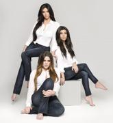 Kim, Kourtney and Khloe Kardashian - Photo Shoot for Kardashian Kollection Denim