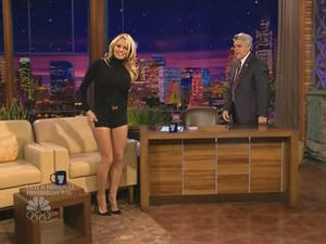 Pamela Anderson - The Tonight Show with Jay Leno (2008)