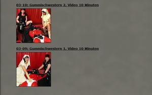 German-Femdom/Carmen Rivera: Gummischwestern (Part 1-2)