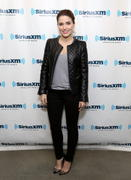 Sophia Bush  -  Visits SiriusXM Studios in New York City  1/8/14