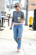 Julianne Hough out with a friend in Los Angeles 03/05/14