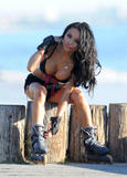 Tila Tequila | Rollerblading in Miami | January 27 | 38 pics
