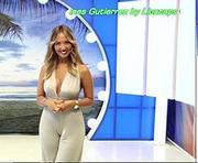 Ines Gutierrez sexy a apresentar o super quiz